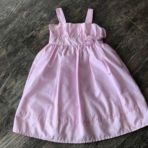 Cherokee pink striped dress